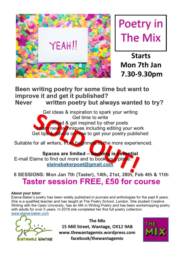 poetry the mix 3 sold out