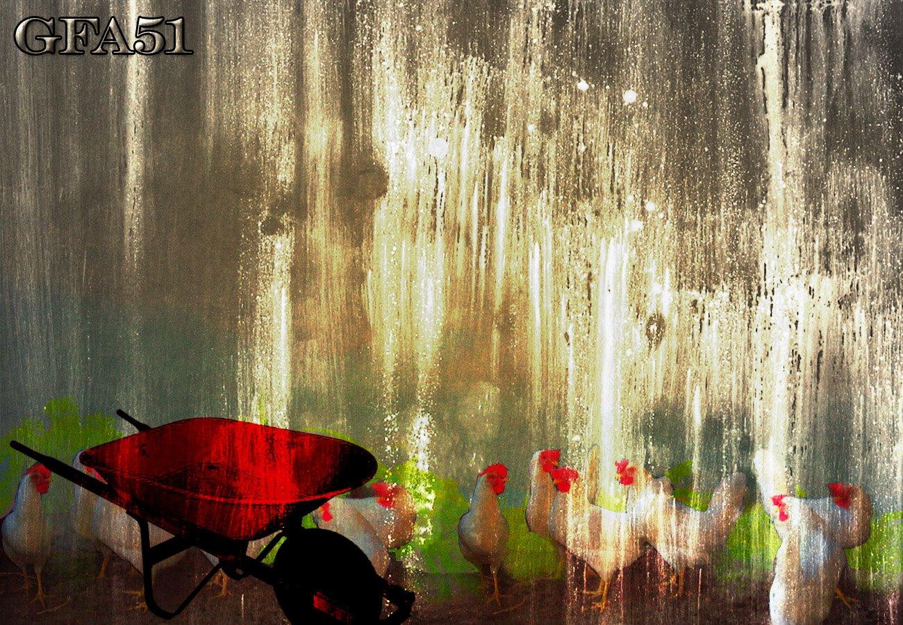 red-wheelbarrow