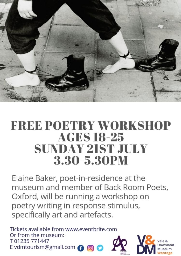 18-25 Poetry Workshop