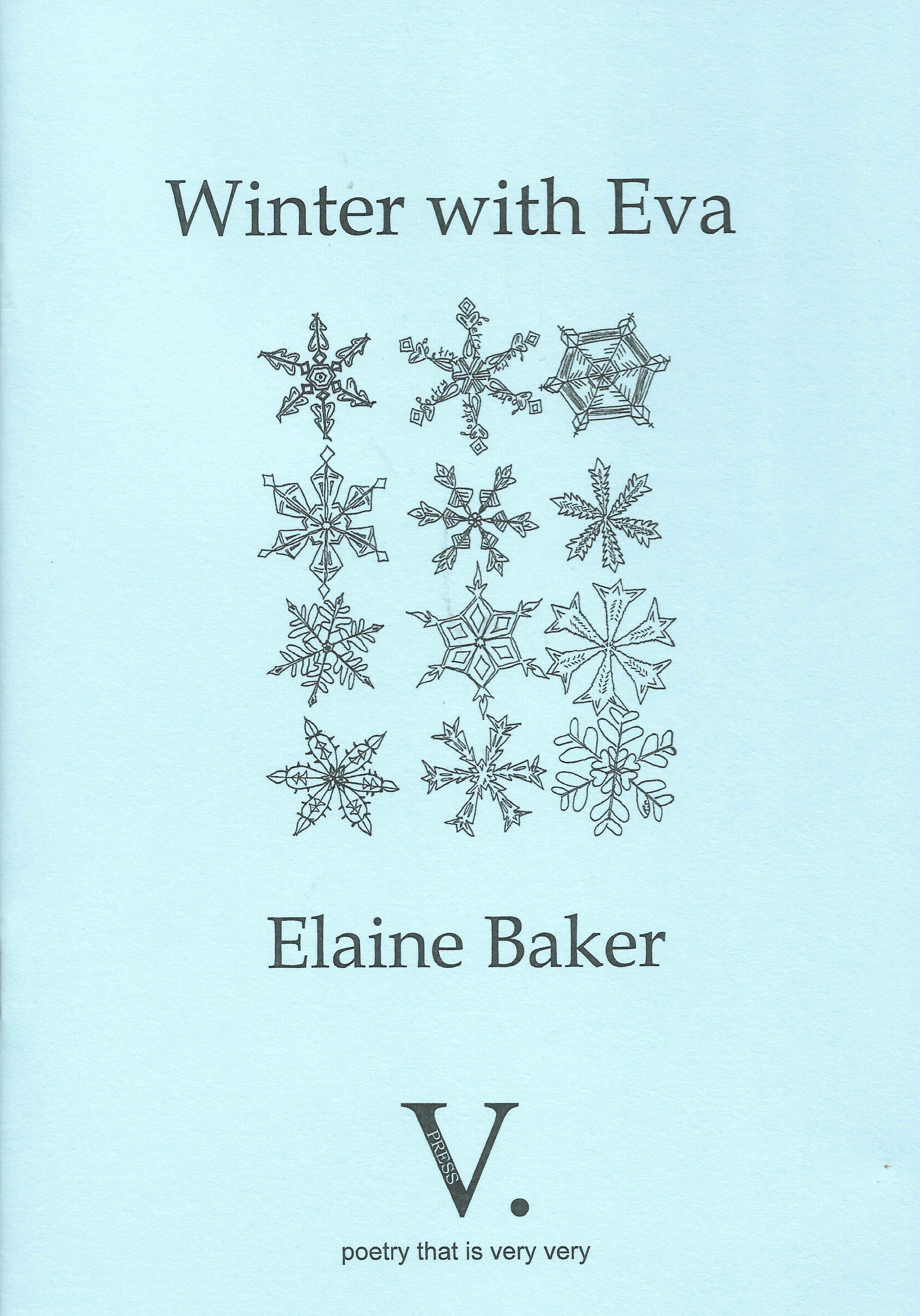 Cover photo Winter with Eva